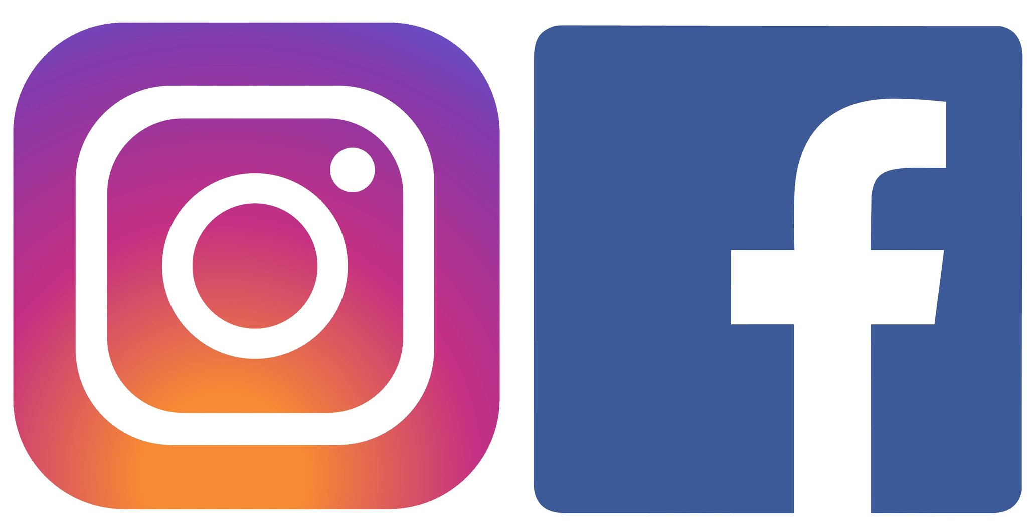 Instagram & Facebook Icons
