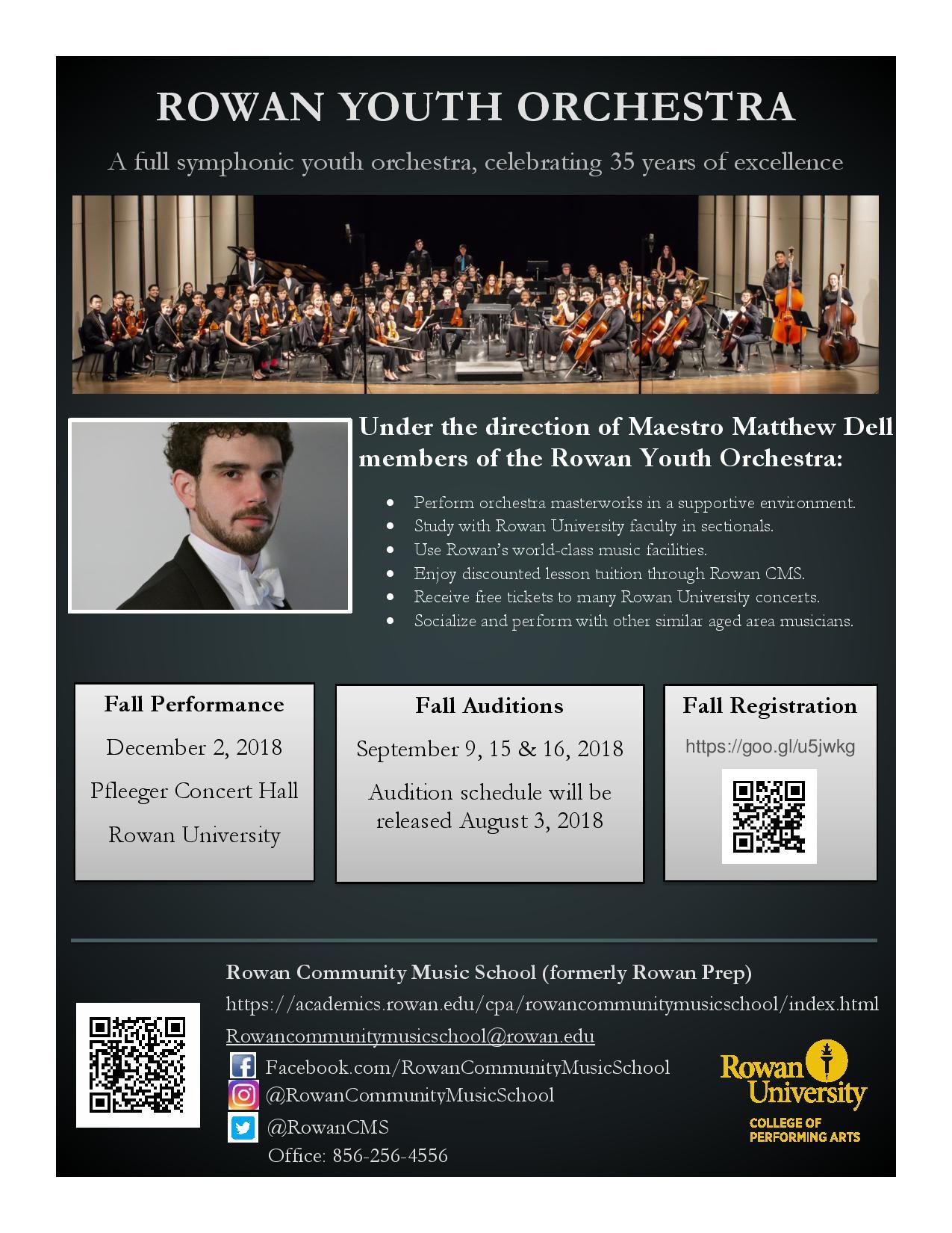 College of Performing Arts   Rowan University