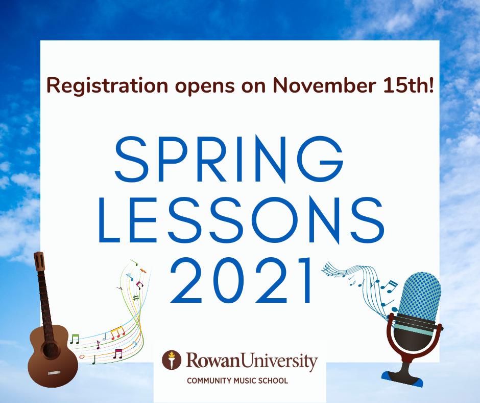Rowan Academic Calendar 2021 Welcome to Rowan Community Music School! | College of Performing